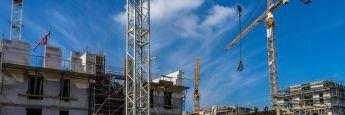 Baustelle: Der Boom bei Projektentwicklungen hält an. Damit bleibt der Bedarf an Mezzanine-Kapital hoch.