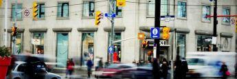 Straßenszene in Toronto: Kames Capital hat vergangenen Juli wieder Zinsrisiko in Kanada aufgenommen