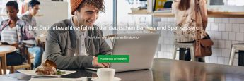 Screenshot der Internetseite von Paydirekt: Für ihren Online-Zahlungsdienstleister sind die deutschen Banken und Sparkassen offenbar auf der Suche nach einem neuen Chef.