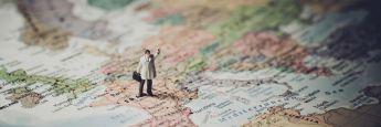 Europa-Karte: Das Angebot der an europäischen Börsen gehandelten Indexfonds erlebt derzeit einen Wandel.