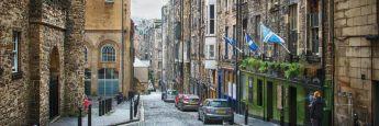 Edinburgh in Schottland: Sitz der Fondsboutique Walter Scott & Partners.