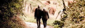 Altes Ehepaar: Mit der frischgegründeten Convivo Wohnparks Deutschland.Immobilien soll ein innovatives Betreuungskonzept umgesetzt werden.