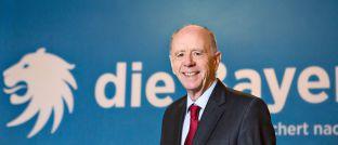 Ehemaliger Arbeitsminister Walter Riester, hier auf einer Veranstaltung der Versicherung Die Bayerische.