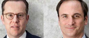 Michael Mertmann (l.) und Edward Martens: Die Vorstände der AVW Immobilien erklären die Vorzüge von Investments in B-Lagen.