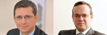 AfW-Vorstände Norman Wirth (li.) und Frank Rottenbacher. Der AfW hat sich in einer Stellungnahme zum Entwurf einer erneuerten VersVermV geäußert.