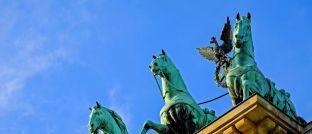 Das Brandenburger Tor in Berlin: Die Hauptstadt der Bundesrepublik ist Performance-Spitzenreiter.