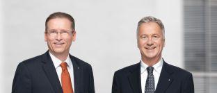 Ottmar Heinen (rechts) und Markus Schürmann: Die Vorstände leiten die Immobiliengesellschaft Project Beteiligungen künftig zusammen.