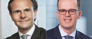 Frank Engels (r.) folgt in der Position des Leiters Portfoliomanagement bei Union Investment auf Björn Jesch.