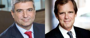 Neues Führungsduo: Christophe Mianné (l.) wird nach Abschluss der aktuellen Transaktion Generaldirektor der Fondsgesellschaft LFDE, deren Verwaltungsrat Didier Le Menestrel vorstehen wird.
