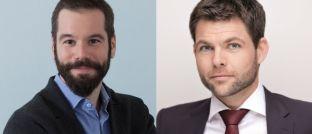 Florian Fischer (li.) und Bernd Ankenbrand haben die Value-Perception-Gap-Studie 2017 erstellt.