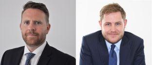 David Ennett (l.) und Jack Holmes, Manager des Kames High Yield Global Bond Fund, kritisieren die Performance von Anleihen-ETFs