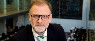 """Ib Fredslund Madsen, Chefstratege der dänischen Jyske Bank Gruppe: """"Aus Bewertungsperspektive sieht es nach einem absoluten Höhepunkt aus""""."""