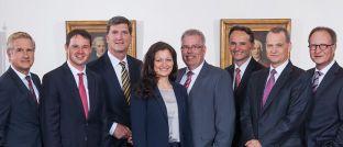 Das Betreuerteam des Berenberg Vermögensverwalter Office.