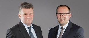Martin Wirth (links) und Raik Hoffmann, Vorstände und Fondsmanager bei FPM Frankfurt Performance Management.