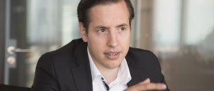 """Lars Reiner, Gründer und Chef des Robo-Advisors Ginmon: """"Wer Geld langfristig gewinnbringend anlegen will, sollte Bitcoin-ETFs meiden""""."""