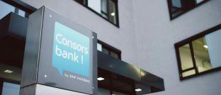 Zentrale der Consorsbank in Nürnberg: Die Direktbank ermöglicht ihren Kunden nun über das Fintech Exporo Zugang zu Immobilien-Direktinvestments.
