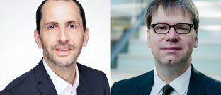 Olaf Lorenz (l.) übernimmt bei der Commerzbank ab April die Bereichsleitung Produktmangement Wertpapier von Torsten Daenert, der einen anderen Bereich verantworten wird.