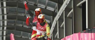 Tobias Wendl und Tobias Arlt: Das deutsche Rodel-Duo hat sich bei den Olympischen Winterspielen in Südkorea die Goldmedaille gesichert,