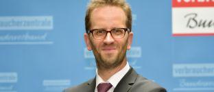 Klaus Müller, Vorstand des Verbraucherzentrale Bundesverbands (VZBV).