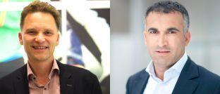 Baki Irmak (rechts) und Stefan Waldhauser: Das Duo bringt den Aktienfonds The Digital Leaders Fund auf den Markt.