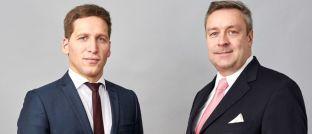 """Ufuk Boydak (l.) und Christoph Bruns (r.), Vorstandsmitglieder der Investmentboutique Loys: """"Wir haben Facebook, Amazon und Tesla aus Bewertungsgründen bislang gemieden."""""""