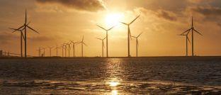 Ein Offshore-Windpark: Über die Trends in der nachhaltigen Geldanlage klärt der Marktbericht des Forums Nachhaltige Geldanlagen auf.