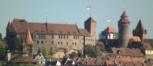Nürnberg ist nicht New York: Das Wahrzeichen Nürnbergs, die Kaiserburg.