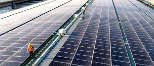 Solarstrom-Produktion: Apple will in China auf erneuerbare Energie setzen.