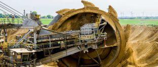 Kohlebagger im Tagebau: Viele Rohstoffpreise liegen im Aufwärtstrend