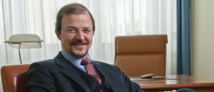 Stephan Albrech, Vorstand der Albrech & Cie. Vermögensverwaltung mag Gold noch immer