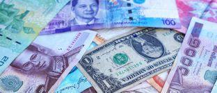 Banknoten unterschiedlicher Länder: Der neue Brandywine-Fonds investiert auch in Währungen