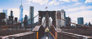 Brooklyn Bridge in New York: JO-Hambro-Fondsmanager Thorsten Becker hält viel von Small und Mid Caps