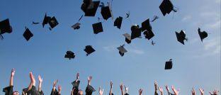 Universitäts-Absolventen: Das CFA Institute vermeldet knapp 20.000 erfolgreiche Teilnehmer