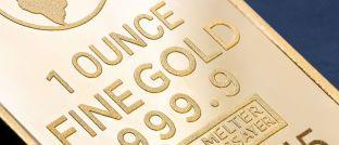 Gold: Der internationale Preis des Edelmetalls ist im vergangenen Halbjahr deutlich nachgegeben.
