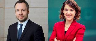 """Robeco-Experten Bernhard Breloer (l.) und Wilma de Groot: """"Die Risiken passiver Strategien sind vielen Anlegern nicht bewusst."""""""
