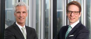 Joachim Raif (l.) und Gaston Michel: Der Frankfurter Vermögensverwalter Source For Alpha stellt sein Management derzeit neu auf.