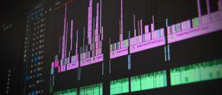 Computerbildschirm: Auch in der Finanzbranche geht es vermehrt darum, Daten effektiver zu nutzen.