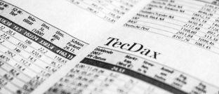 Aktienkurse der Tecdax-Titel: Während die Diversifikation im M-Dax und S-Dax künftig erhöht werde, sinke sie im wichtigsten Auswahlindex für deutsche Technologieaktien, kritisiert Michael Beck.