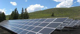 Solaranlage: 61 Prozent der Investoren weltweit verfolgen inzwischen eine ESG-Strategie. Knapp die Hälfte von Ihnen gibt finanzielle Vorteile als wichtigsten Beweggrund für ESG-Engagements an.
