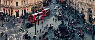Piccadilly Circus in London: Großbritannien ist mit Abstand die größte Position im Portfolio des Vontobel TwentyFour Absolute Return Credit Fund.