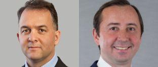 """Laurent Saltiel (l.), Chief Investment Officer – Emerging Markets Growth, und Sergey Davalchenko, Portfolio Manager beim Asset Manager Alliance Bernstein (AB): """"Bei chinesischen Unternehmen sollten Anleger unbedingt auch die Markenanalyse im Auge haben."""""""
