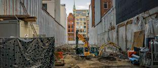 Baustelle: Für Bausparer sind die niedrigen Zinsen gut, für die Bausparkassen weniger.