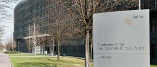 Bafin-Gebäude in Frankfurt: Deutschlands Finanzzentrum ist Sitz der für Wertpapierhandel und Asset Management zuständigen Aufseher.