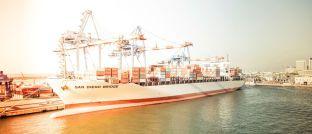 """Containerschiff: """"Schiffsinvestments auf dem Zweitmarkt sind ein fast vergessener Markt"""", sagt Jörg Neidhart von der auf Sachwertbeteiligungen spezialisierten Secundus Advisory aus Hamburg."""