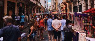 Markt in Buenos Aires: Argentiniens Wirtschaft macht schwere Zeiten durch