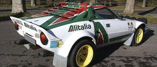 Der Lancia Stratos Gruppe 4 hat Armin Schwarz auf vielen Rallyes begleitet.