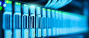 Festplatten eines Daten-Servers: Big Data wird nicht nur für Investoren zu einem wichtigen Thema