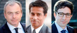 In neuen Funktionen für Edmond de Rothschild Asset Management tätig: Kris Deblander, Marc Halperin und Jacques-Aurélien Marcireau (v.l.n.r.)