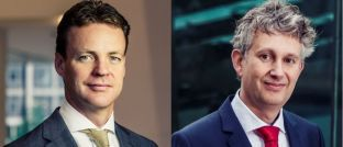 """Robeco-Experten Victor Verberk (links) und Sander Bus: """"Schwellenländer bekommen die Verknappung der Dollar-Liquidität schmerzhaft zu spüren."""""""