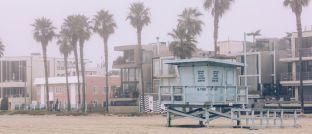 Strand in Kaliforninen: Die Pacific Investment Management Company (Pimco) hat ihren Sitz in Newport Beach im US-Bundesstaat Kalifornien.
